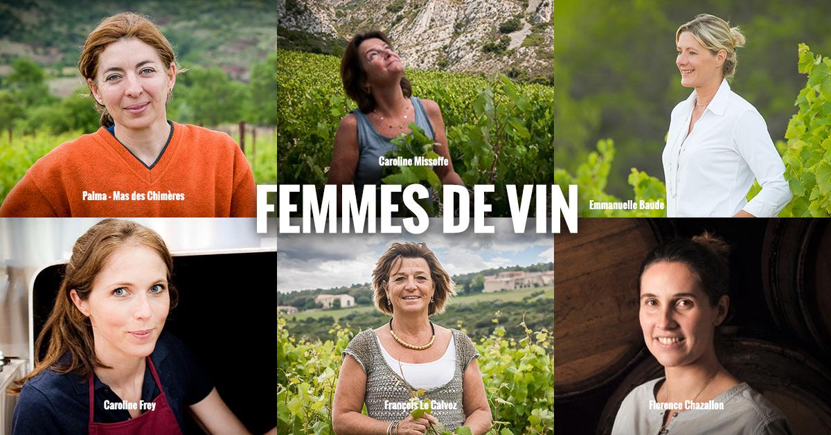 vin au féminin