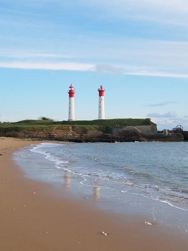 Le phare de l'île d'Aix