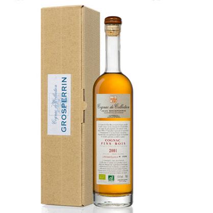Cognac 2001 Fins Bois millésime - Grosperrin