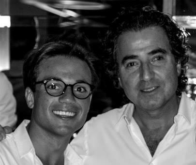 Pascal Jolivet qui a transmis à son fils Clément la passion de la vinification et du monde du vin. Clément est parti aujourd'hui fait ses armes chez Jaboulet.